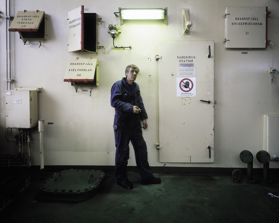 Man Turning Sixty-five after Fifty Years at Sea, 2010